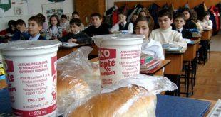 lapte corn scoala elevi