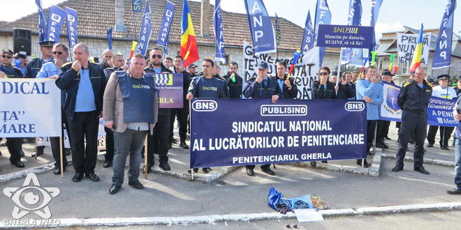 penitenciar gherla protest
