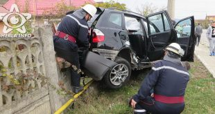 accident gherla bmw gard pompieri