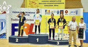 augusta cuc craiova lupte campionat balcanic 2016