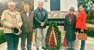 gherla monumentul eroilor coroana ziua armatei primar neselean ioan viceprimar iulia trif