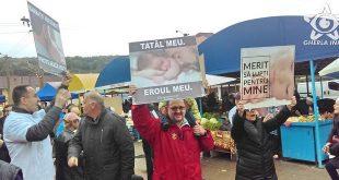 flashmob viata piata gherla avort cluj