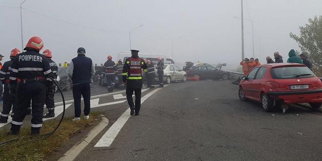 accident autostrada a2 calarasi