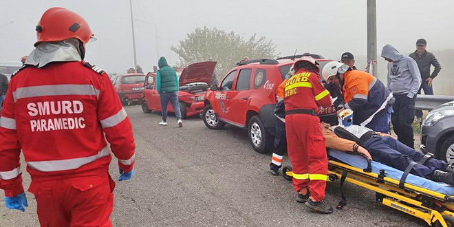 accident autostrada a2 calarasi