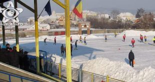 fotbal gherla stadion iarna zapada