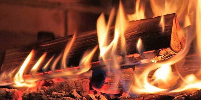 lemne foc soba