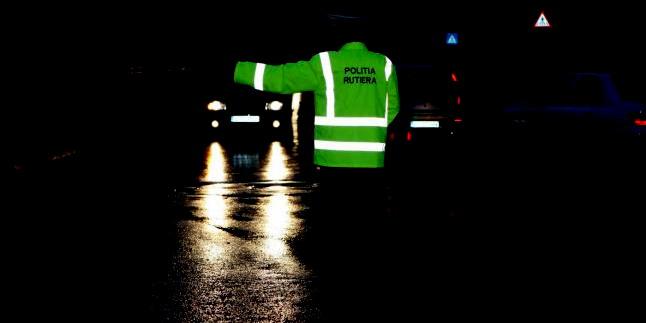 politist noapte control