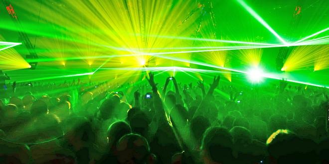 show laser concert