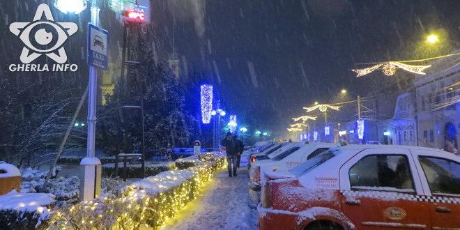 taxi gherla iarna zapada