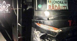 accident apahida cluj tarsin politie autocar