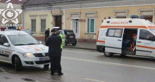 accident gherla politie ambulanta strada bobalna