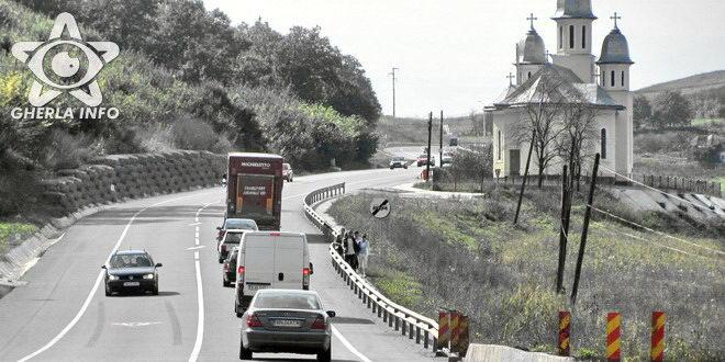 gherla centura ocolitoare varianta bunesti cluj trafic auto biserica