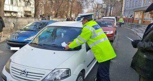 politie cluj masina amenda