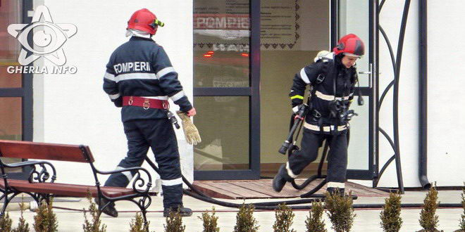 pompieri liceu maghiar gherla simulare