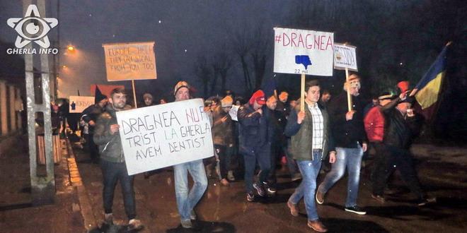 protest gherla