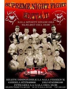 gala kickbox mma dej gherla 2017 supreme night fight