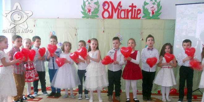 8 martie copii gradinita veseliei gherla