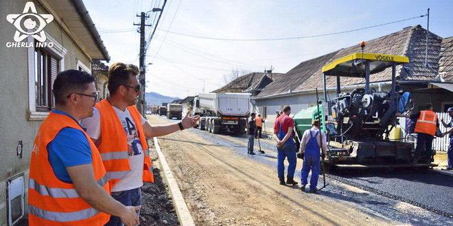 asfaltare gherla str tudor vladimirescu