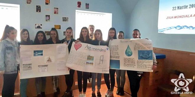 liceul tehnologic elevi ziua apei