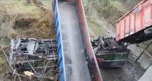 accident feroviat tren deraiat hunedoara