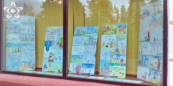 expozitie desene biblioteca gherla