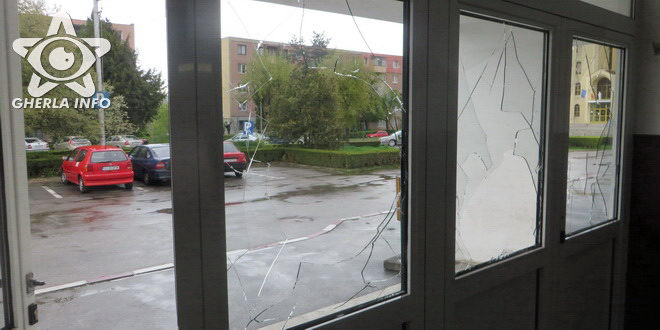 geam spart gara gherla