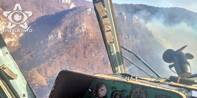 incendiu munte padure apuseni alba