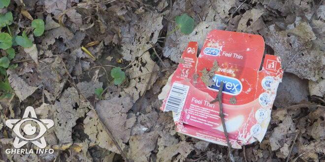 prezervativ ambalaj