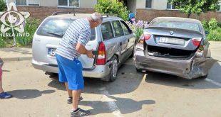 accident gherla bmw opel strada victoriei