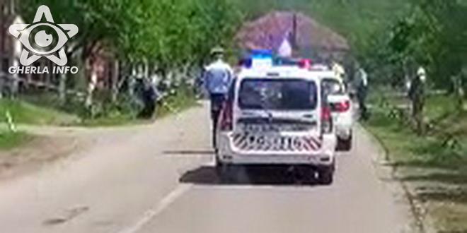 accident salaj garbou cernica politie