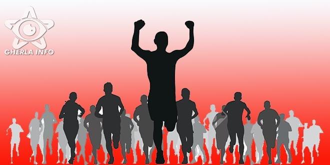 cros alergare tineri elevi castigator