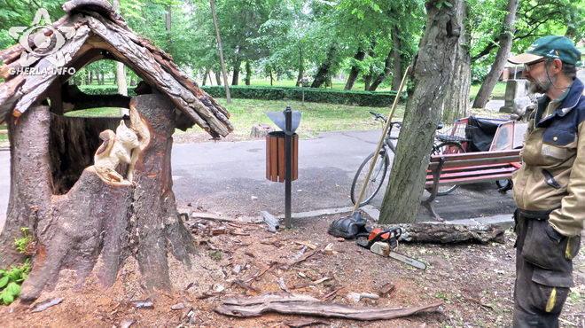 ioan galgoczy casuta gherla parc sculptura