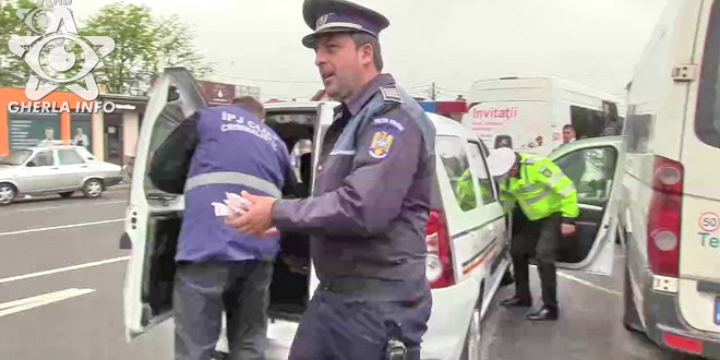 politie politist gherla autogara