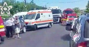accident dej ambulanta pompieri