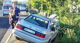 accident fundatura masina bistrita cluj volkswagen
