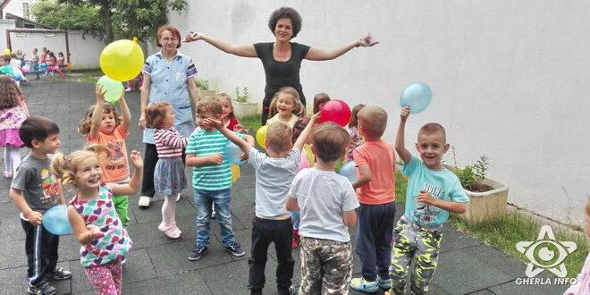 gradinita arici pogonici gherla 1 iunie copii
