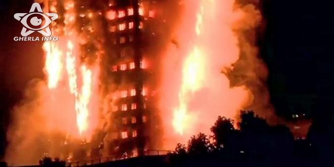 incendiu bloc londra