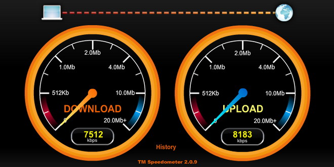 internet viteza download