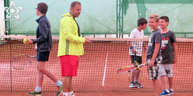 tenis gherla copii rotary club
