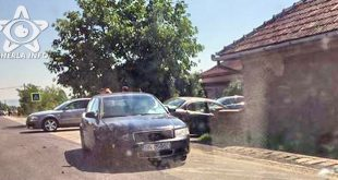 accident livada cluj gherla jaguar audi
