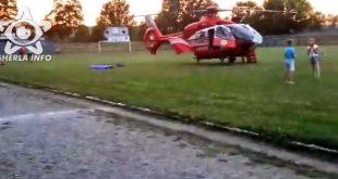 elicopter dej smurd stadion