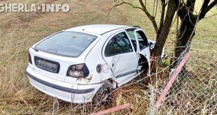 accident alunis cluj renault copac