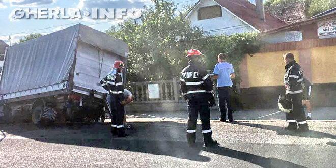 accident livada pompieri dej