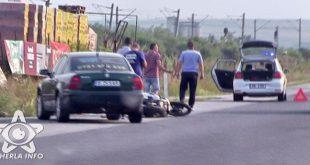 accident motocicleta volkswagen livada gherla