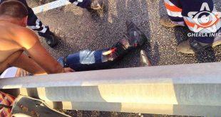 accident motociclist bunesti gherla
