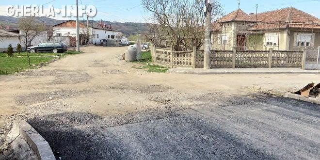 gherla strada abatorului asfalt