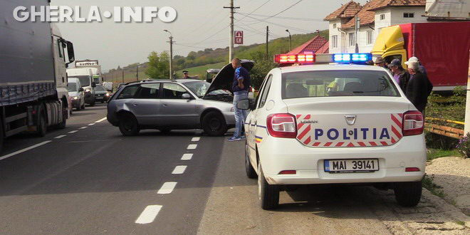 accident gherla baita politie cluj