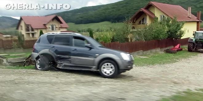 accident fizesu gherlii gherla taxi