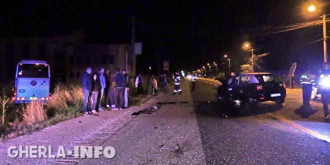 accident gherla taxi autocar moldova