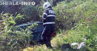 accident livada pompieri masina sant
